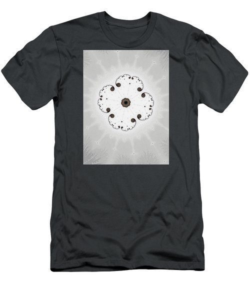 Men's T-Shirt (Slim Fit) featuring the photograph Map Of Fractal Islands by Ronda Broatch