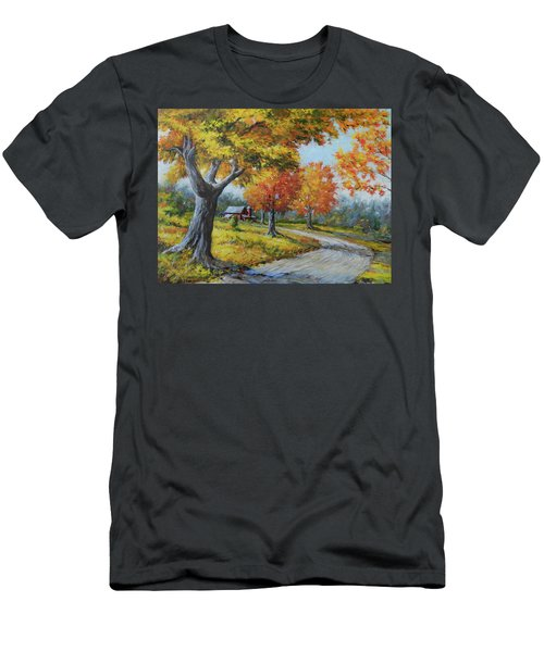 Maple Road Men's T-Shirt (Athletic Fit)