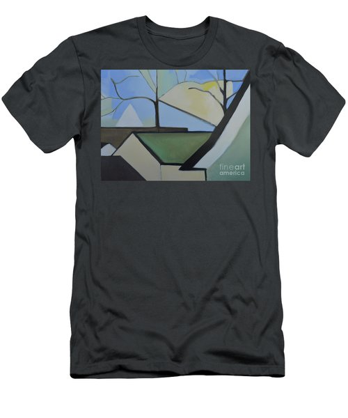 Maplewood Men's T-Shirt (Slim Fit) by Ron Erickson