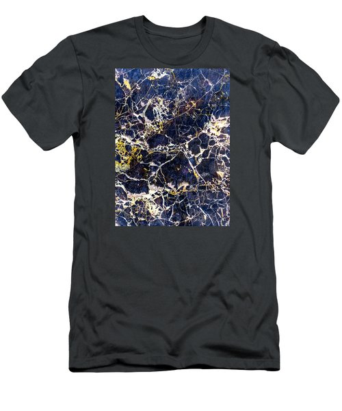 Marble Stone Texture Wall Tile Men's T-Shirt (Slim Fit) by John Williams