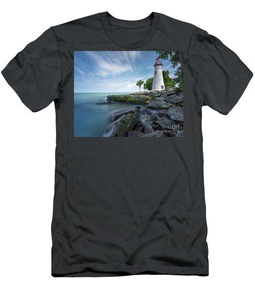 Marblehead Breeze Men's T-Shirt (Slim Fit) by James Dean