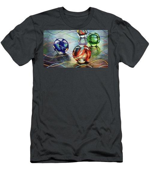 Marbles 4 Men's T-Shirt (Athletic Fit)