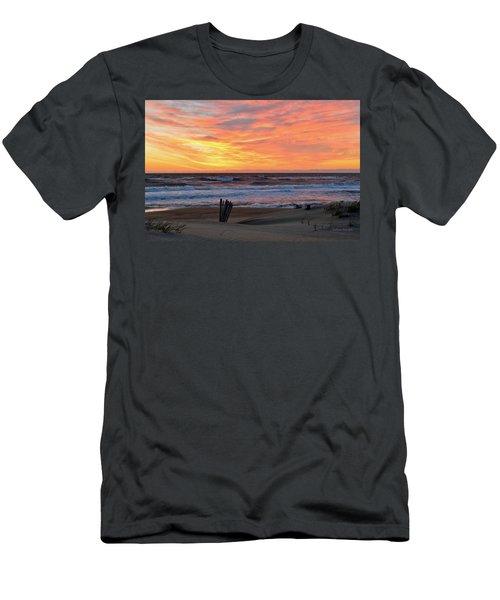 March 23 Sunrise  Men's T-Shirt (Athletic Fit)