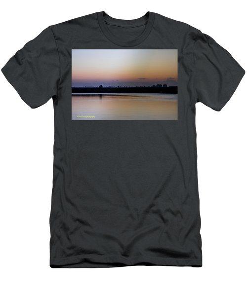 March Pre-sunrise Men's T-Shirt (Slim Fit) by Nance Larson