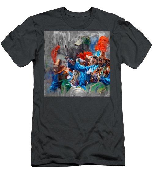 Mardi Gras 242  Men's T-Shirt (Athletic Fit)