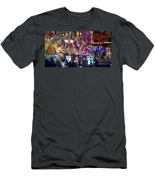 Mariachi Bar In San Antonio Men's T-Shirt (Athletic Fit)