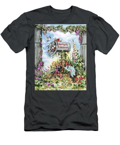 Marilyn's Greenhouse Men's T-Shirt (Athletic Fit)