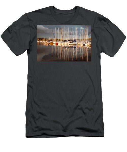 Marina Sunset 6 Men's T-Shirt (Athletic Fit)