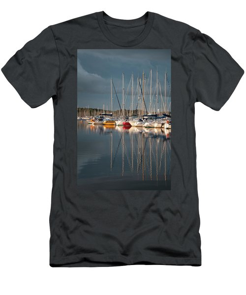 Marina Sunset 8 Men's T-Shirt (Athletic Fit)