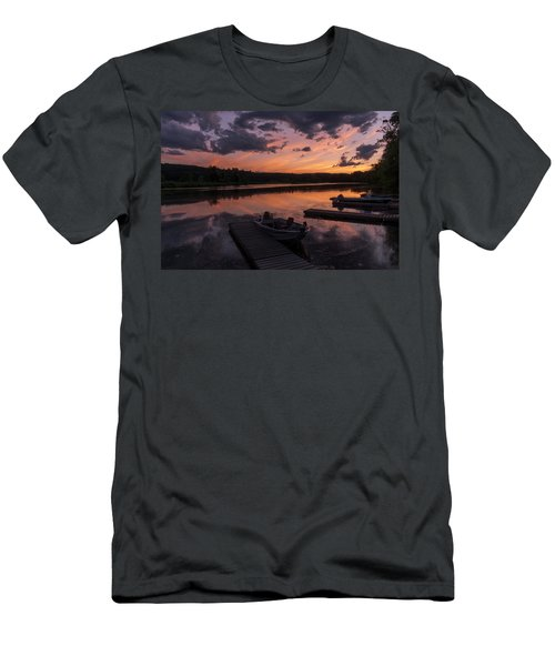 Marina Sunset IIi Men's T-Shirt (Athletic Fit)