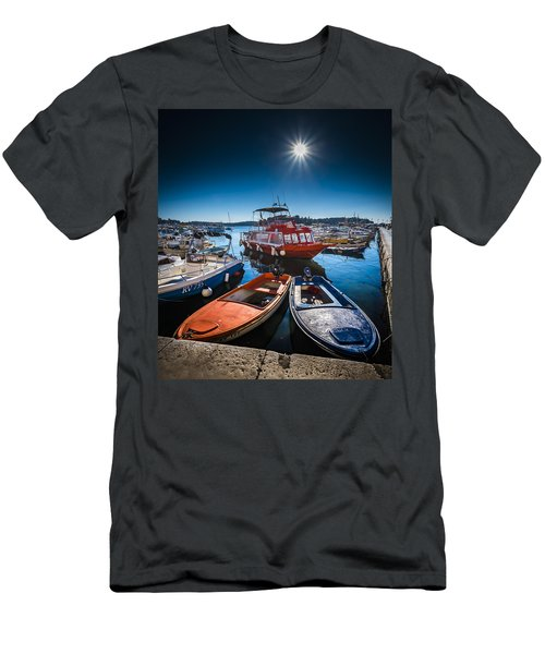 Marina Under The Sun Men's T-Shirt (Athletic Fit)