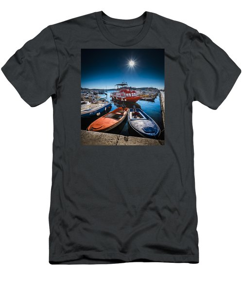 Marina Under The Sun Men's T-Shirt (Athletic Fit)