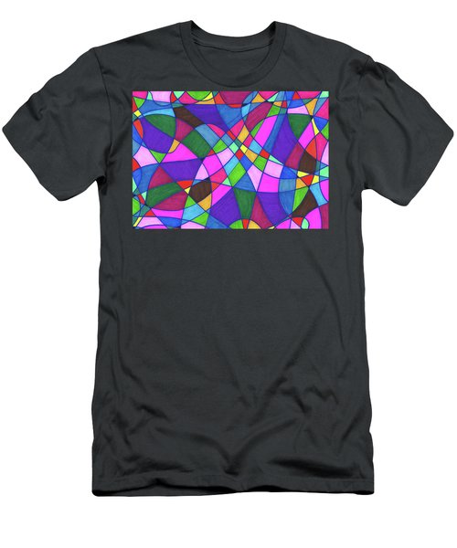 Marker Mosaic Men's T-Shirt (Athletic Fit)
