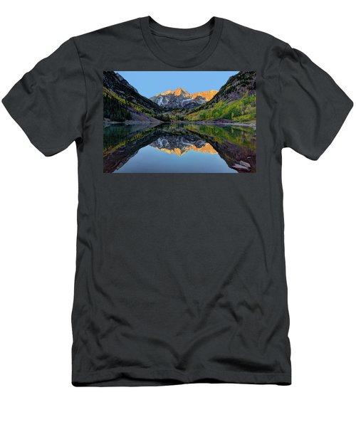 Maroon Bells Sunrise Men's T-Shirt (Athletic Fit)