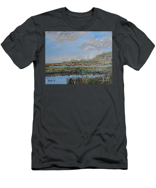Marsh View Men's T-Shirt (Athletic Fit)