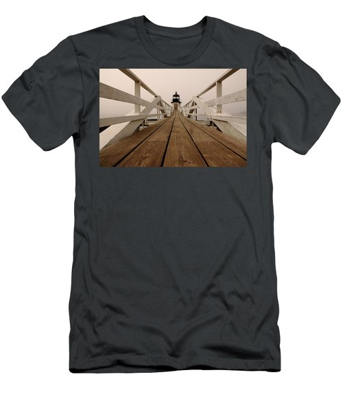 Marshall Point Fog Men's T-Shirt (Athletic Fit)
