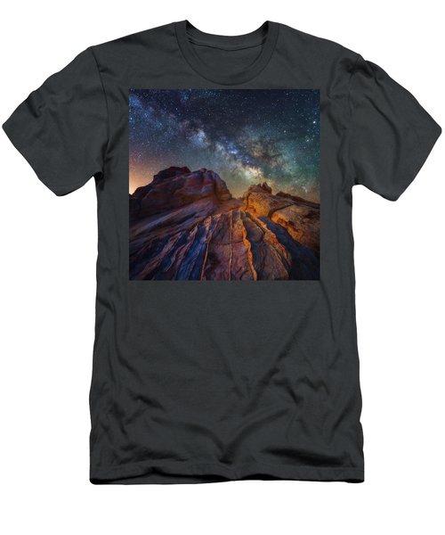 Martian Landscape Men's T-Shirt (Athletic Fit)