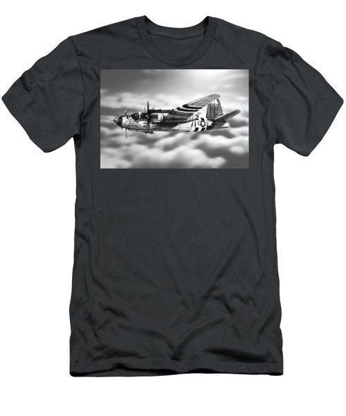 Martin B-26 Marauder Drawing Men's T-Shirt (Athletic Fit)