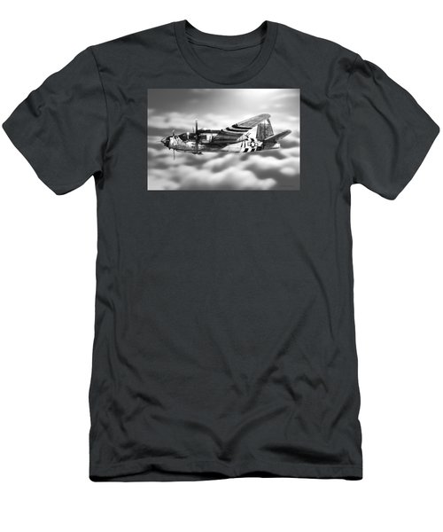 Martin B-26 Marauder Drawing Men's T-Shirt (Athletic Fit)