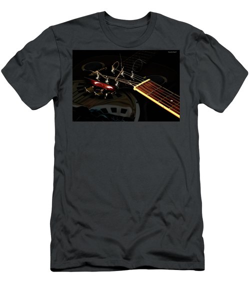 Martinez Guitar 003 Men's T-Shirt (Slim Fit) by Kevin Chippindall