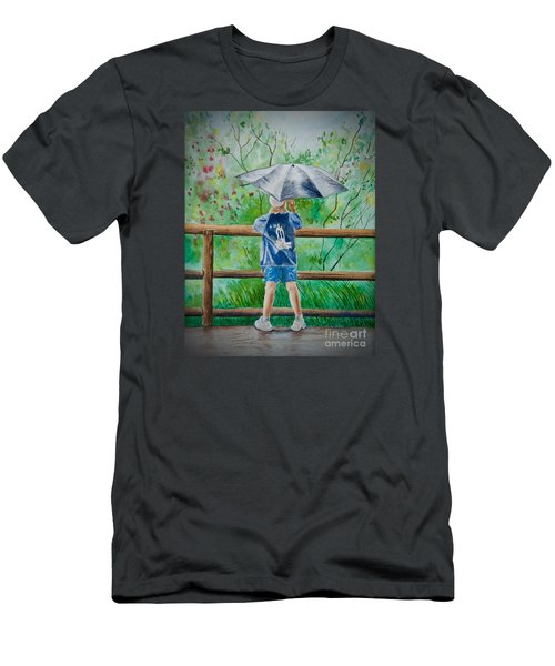 Marcus' Umbrella Men's T-Shirt (Athletic Fit)