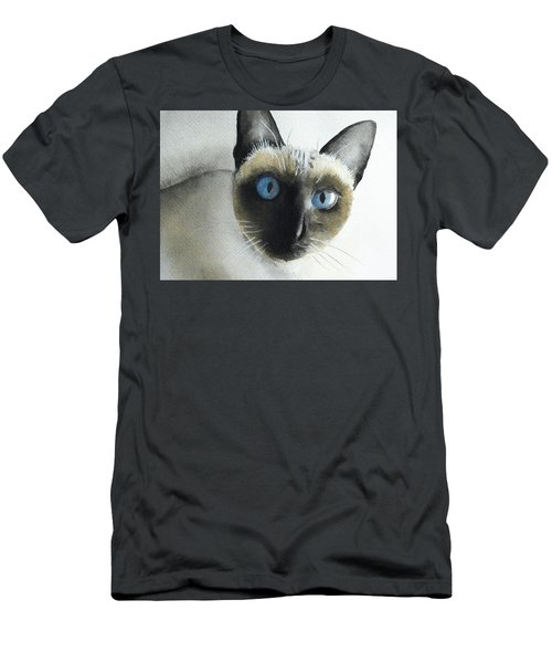 Mary Cat Men's T-Shirt (Athletic Fit)