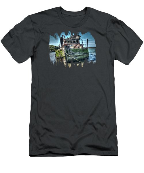 Men's T-Shirt (Slim Fit) featuring the photograph Mary D. Hume Shipwreak by Thom Zehrfeld