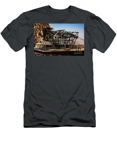 Men's T-Shirt (Athletic Fit) featuring the photograph Masada Lift by Mae Wertz