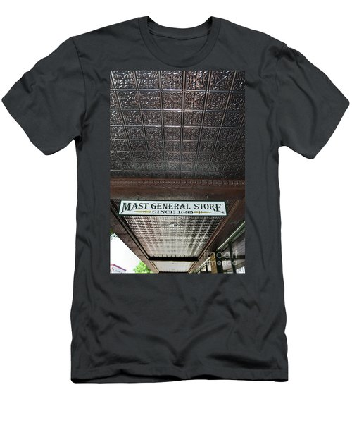 Men's T-Shirt (Slim Fit) featuring the photograph Mast General Store II by Skip Willits