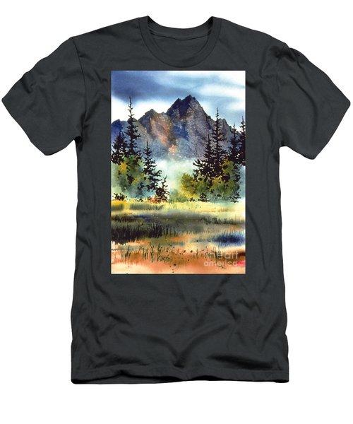 Matanuska Men's T-Shirt (Slim Fit) by Teresa Ascone