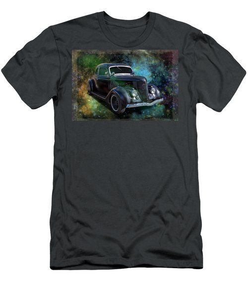 Matt Black Coupe Men's T-Shirt (Slim Fit) by Keith Hawley