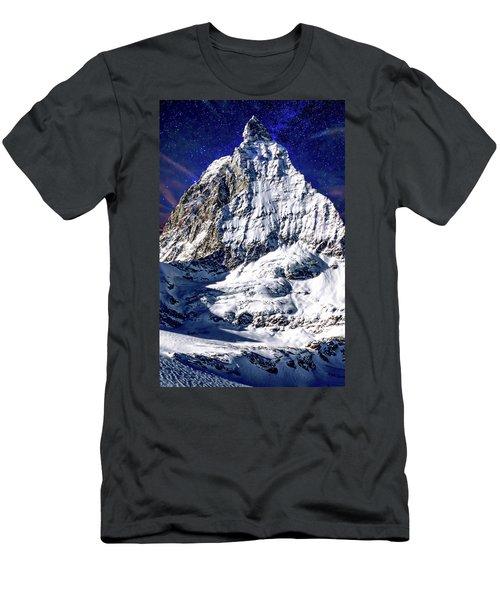 Matterhorn At Twilight Men's T-Shirt (Athletic Fit)