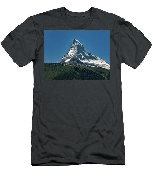Matterhorn, Switzerland Men's T-Shirt (Athletic Fit)