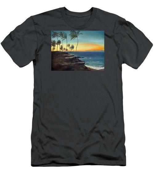 Maui Men's T-Shirt (Slim Fit) by Carol Sweetwood