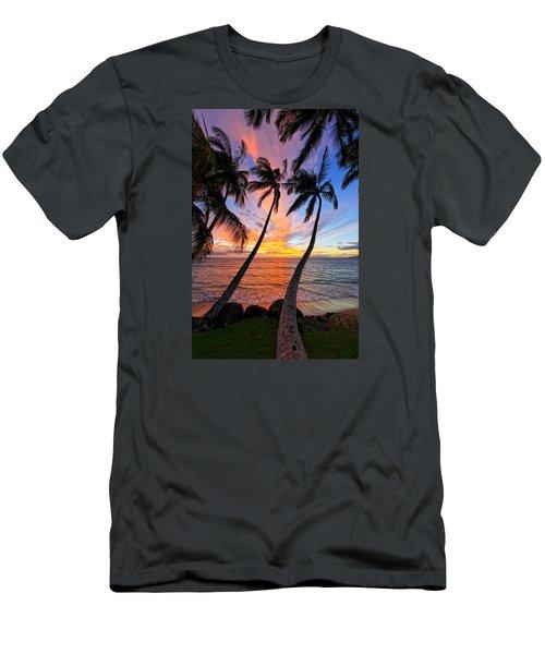 Maui Magic Men's T-Shirt (Slim Fit) by James Roemmling