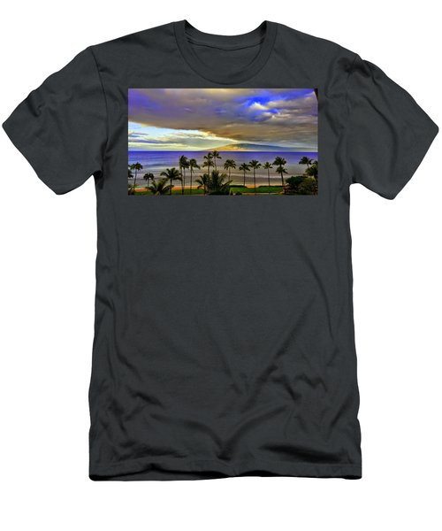 Maui Sunset At Hyatt Residence Club Men's T-Shirt (Athletic Fit)
