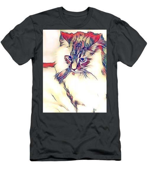 Max The Cat Men's T-Shirt (Athletic Fit)