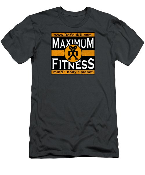 Maxfitness Men's T-Shirt (Athletic Fit)