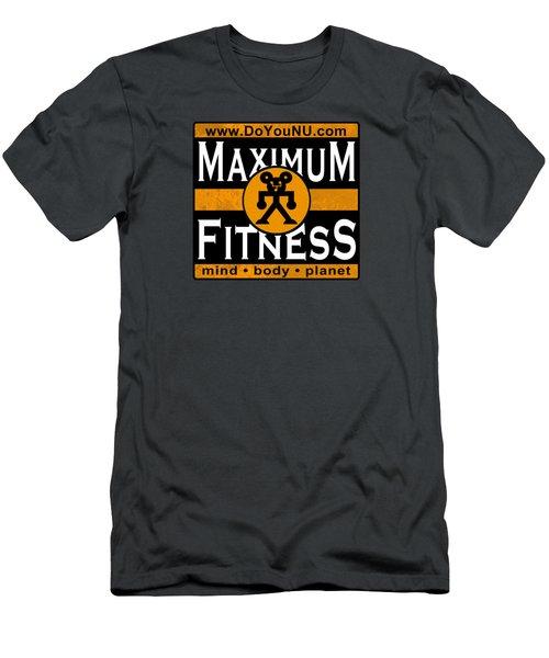 Maxfitness Men's T-Shirt (Athletic Fit)