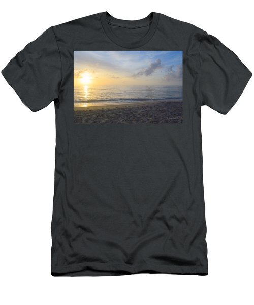 Men's T-Shirt (Athletic Fit) featuring the photograph May 28th Sunrise by Barbara Ann Bell
