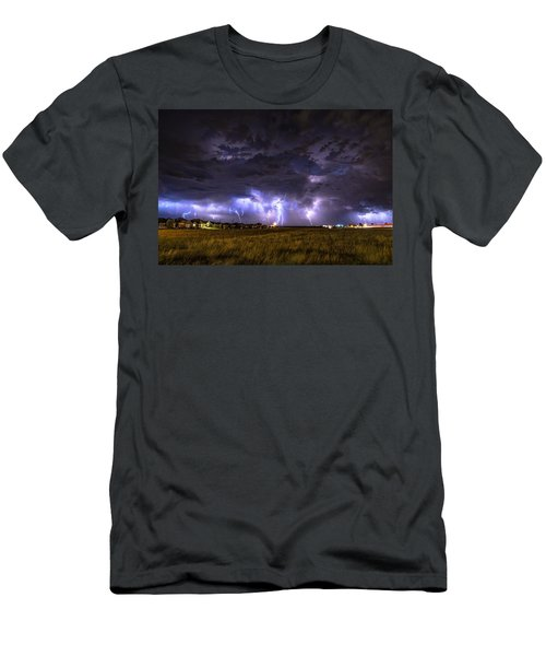 May Lightning Men's T-Shirt (Athletic Fit)