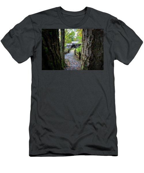 Maybry Mill Through The Trees Men's T-Shirt (Athletic Fit)