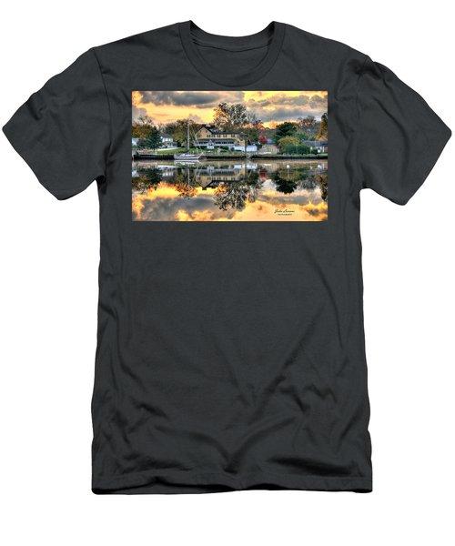 Mays Landing Morning Men's T-Shirt (Slim Fit) by John Loreaux