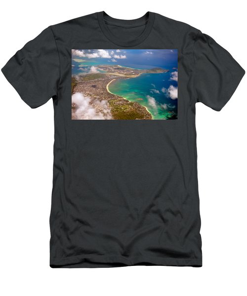 Men's T-Shirt (Slim Fit) featuring the photograph Mcbh Aerial View by Dan McManus