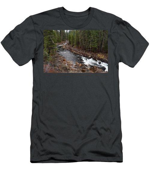 Mccloud River Men's T-Shirt (Athletic Fit)