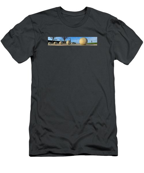 Men's T-Shirt (Slim Fit) featuring the photograph Mccovey Cove by Steve Siri