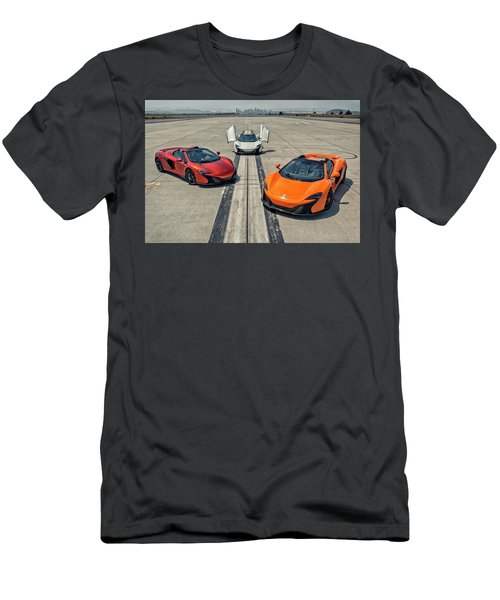 #mclaren #650s #party Men's T-Shirt (Athletic Fit)