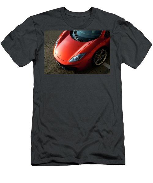 Men's T-Shirt (Slim Fit) featuring the photograph Mclaren Hood by Joel Witmeyer
