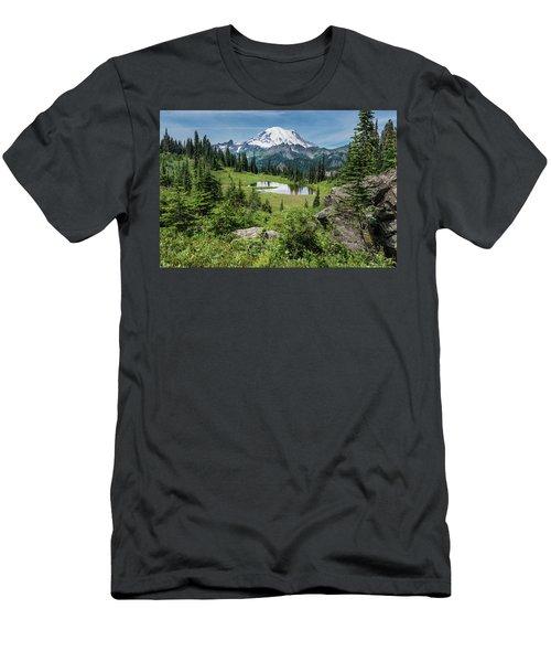 Meadow View Men's T-Shirt (Athletic Fit)