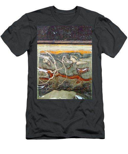Meandering Molecules Men's T-Shirt (Athletic Fit)